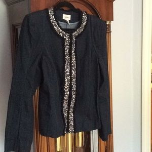 Jean jacket with bling from Neumann Marcus medium